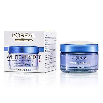 L ' Oréal Dermo-Expertise White perfecte rustgevende crème Night - 50ml / 1.7 oz