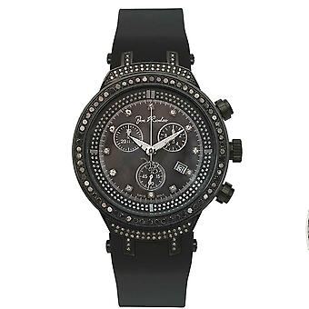 Joe Rodeo diamond men's watch - MASTER Black 2.65 ctw