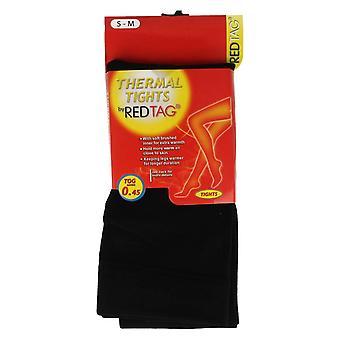 Ladies Red Tag Thermal Tights