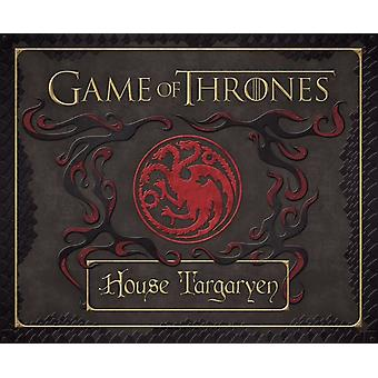 House Targaryen Stationary Set (Game of Thrones Stationery) (Insights Deluxe Stationery Sets) (Hardcover) by Insight Editions