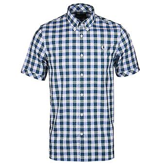 Chemise manches courtes en coton Fred Perry Ivy Vichy