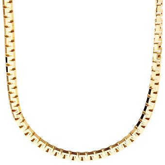 Sterling 925 Silver Venetian chain - VENETIAN 4, 5 mm gold