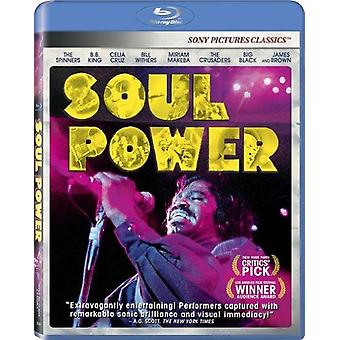Soul Power [BLU-RAY] USA import