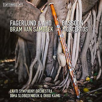 Aho / Fagerlund / Sambeek / Kamu / Slobodeniouk - Fagerlund & Aho: Bassoon Concertos [SACD] USA import