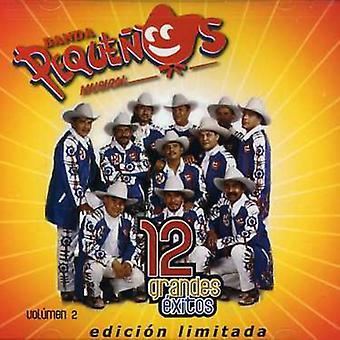 Banda Pequenos Musical - Banda pequeños Musical: Vol. 2-12 Grandes Exitos [CD] USA importar