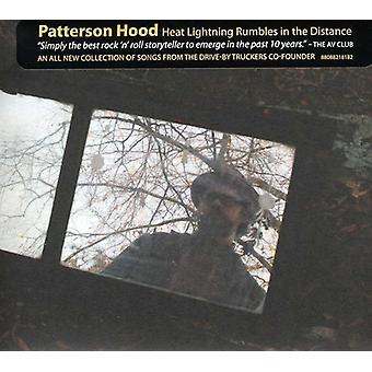 Patterson Hood - varme Lightening rumler i afstand [CD] USA importen