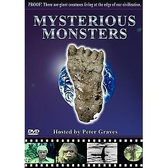 Mystisk Monsters [DVD] USA importerer