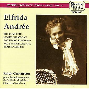 Aldree Elfrida - Aldree Elfrida: Morten, Aldree: komplet orgelværker [CD] USA import
