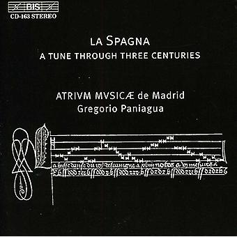 Gregorio Paniagua - La Spagna, 15th, 16th, 17th Centuries [CD] USA import