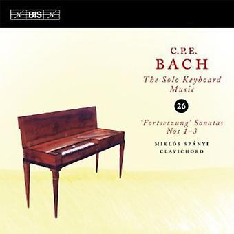 J.S Bach - C.P.E. Bach: The Solo Keyboard Music, Vol. 26 [CD] USA import