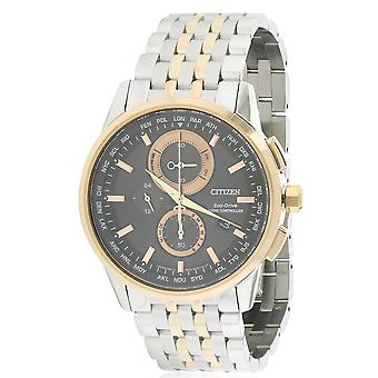 Citizen Eco-Drive World Chronograph A-T Herre ur AT8116-57E