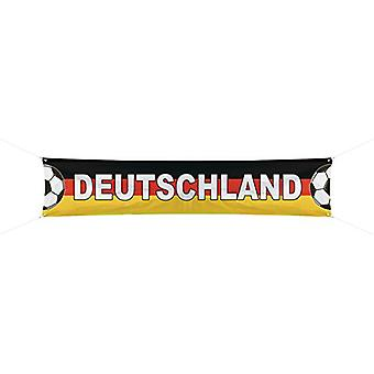 Football banner Germany 360 x 60 cm EM World Cup soccer party