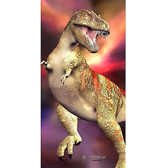 Cheatwell Games Royce 3D Wall & Door Poster - T Rex