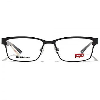 Levis Classic Rectangle Glasses In Black