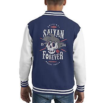 Varsity Jacket Forever di Saiyan Dragon Ball Z capretto