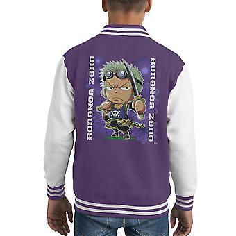 One Piece Roronoa Zoro Mini Kid's Varsity Jacket