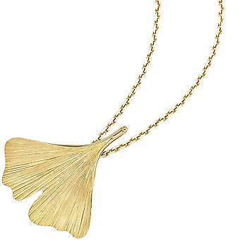 Pendants Ginkgo Ginkgo 375 pendant gold yellow gold Ginko