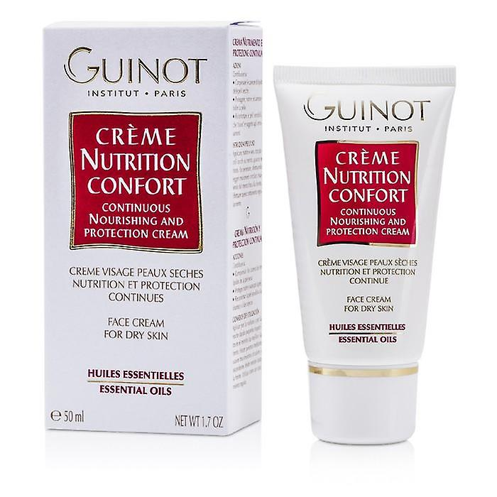Guinot Continuous Nourishing & Protection Cream (For Dry Skin) - 50ml/1.7oz