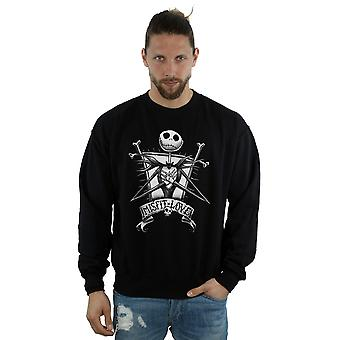 Disney Men's Nightmare Before Christmas Misfit Love Sweatshirt