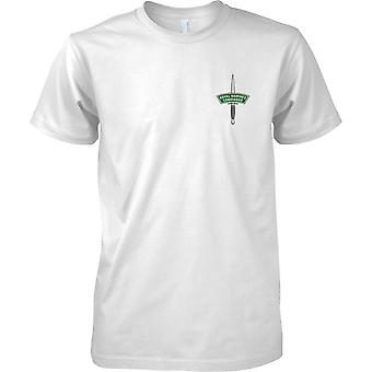Royal Marines Commando Dagger - Elite Naval Force - Mens Chest Design T-Shirt