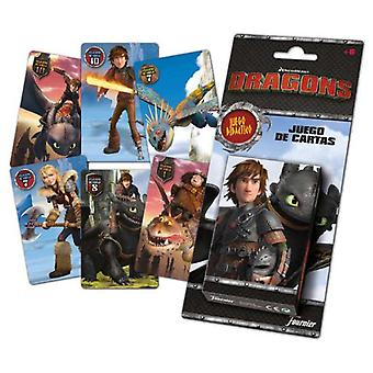 Fournier Baraja Children How to Train Your Dragon (Toys , Boardgames , Cards)