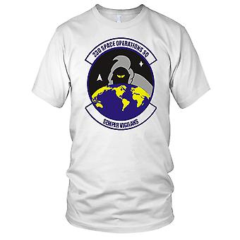 USAF 23rd Space Operations Clean Effect Ladies T Shirt