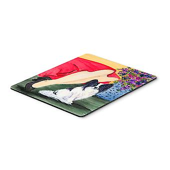 Carolines Treasures  SS8523MP Lady with her Papillon Mouse Pad, Hot Pad or Trive