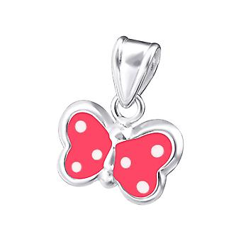 Butterfly - 925 Sterling Silver Pendants - W19006x