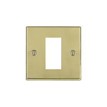 Hamilton Litestat Hartland Polished Brass 1 Euro Apert 25x50+Grid