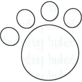 Your Next Stamp Die-Paw Print YNSD639