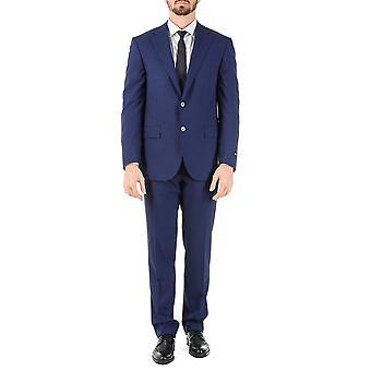 CORNELIANI traje para hombre de manga larga azul Super de 110