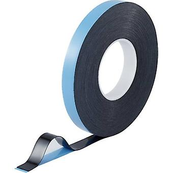 Double sided adhesive tape TOOLCRAFT Blue-black (L x W) 30 m x