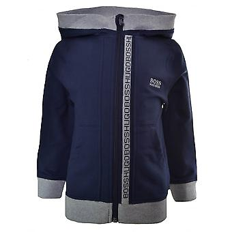 Hugo Boss Kids Hugo Boss Infants And Kids Navy Blue Hooded Sweatshirt