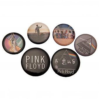Pink Floyd Button Badge Set