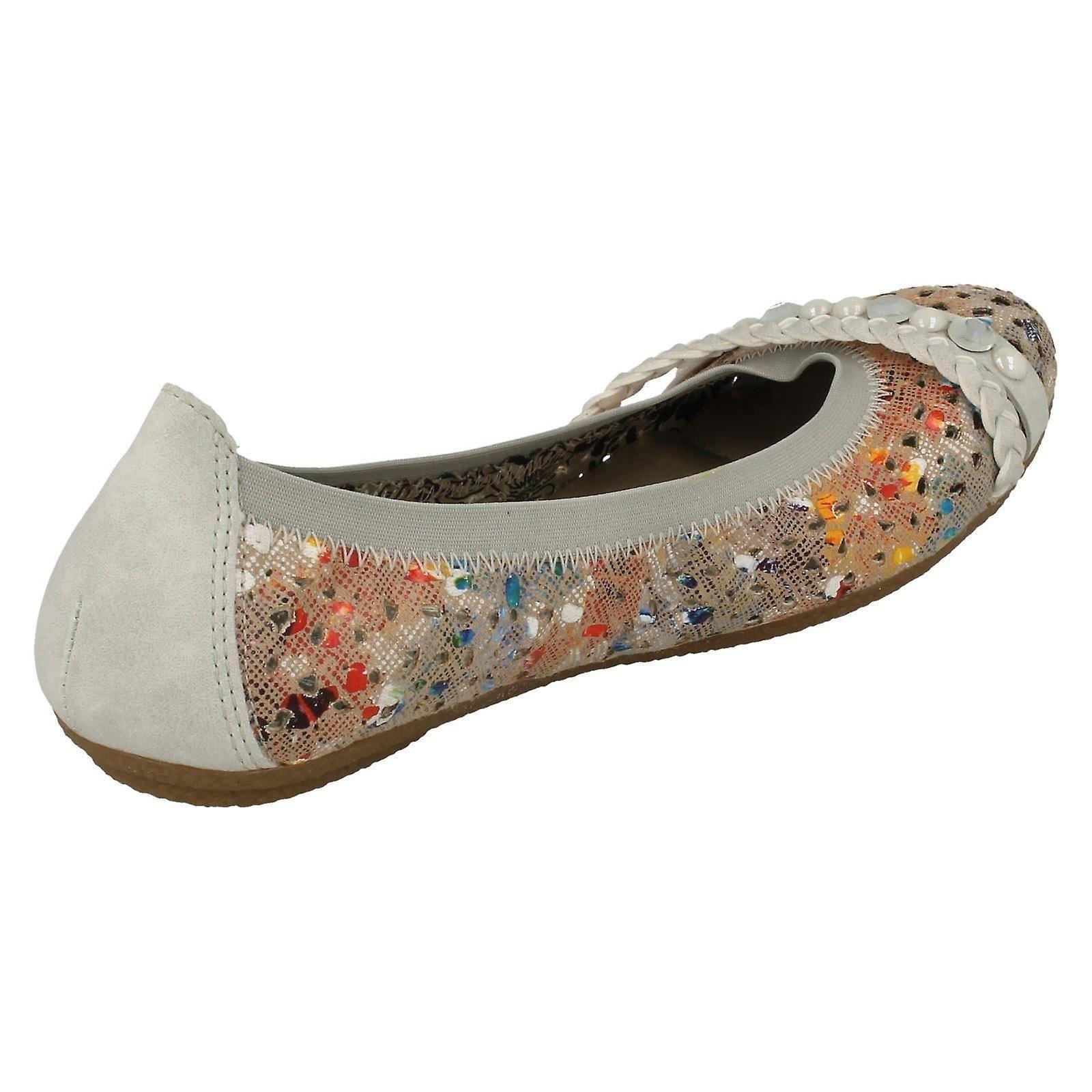 mesdames rieker 41458 chaussures à enfiler 41458 rieker plat 9dbb2e