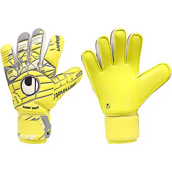 UHLSPORT ELIMINATOR SUPERZACHT keeper handschoenen grootte