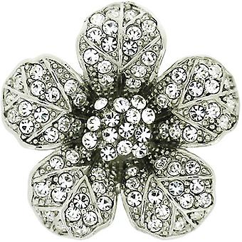 Brooches Store Medium Swarovski Crystal Aster Flower Brooch Pendant