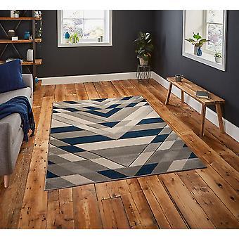 Pemboke G2075 grijs blauwe rechthoek tapijten moderne tapijten