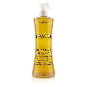 Payot Huile De Douche Relaxante Relaxing Cleansing Body Oil With Jasmine & White Tea Extracts - 400ml/13.5oz