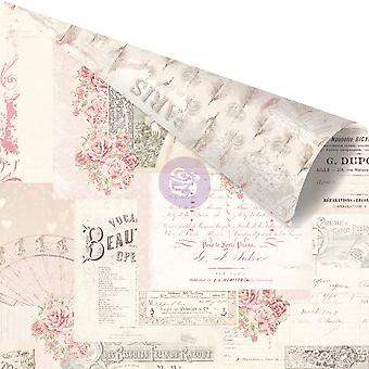 Love Story Pink Foiled Double-Sided Cardstock 12