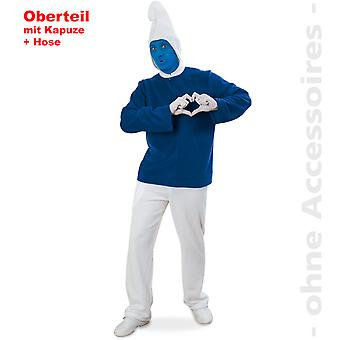 Blue dwarf costume mens dwarf costume blue GNOME costume men