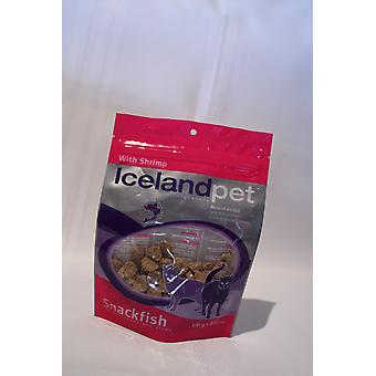 Iceland Pet Galletas para Gato Cat Treat Shrimp Flavour (Cats , Treats , Biscuits)