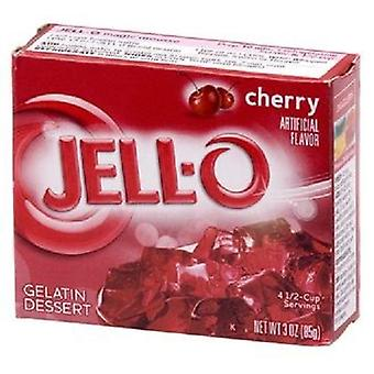 Jell-O Cherry Instant Jello Gelatin Mix 3 oz Box