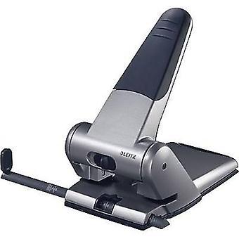 Leitz 5180-00-84 Heavy duty punch Silver (W x H x D) 220 x 110 x 130 mm