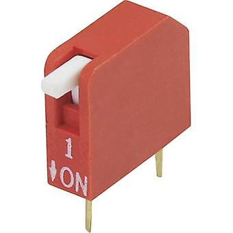 DIP-Switch-Anzahl der pins 1 Klavier-Typ TRU Komponenten DP-01-1 PC