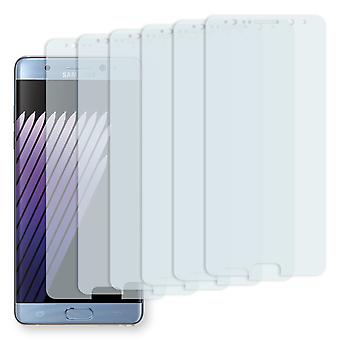 Samsung Galaxy touch FE display protector - Golebo Semimatt protector (deliberately smaller than the display, as this is arched)