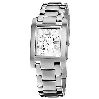 ORPHELIA Ladies Analogue Watch Solid Silver Stainless steel 122-2706-88