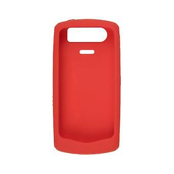 OEM Blackberry 8110 8120 8130 Silicon Skin Case - (Red)