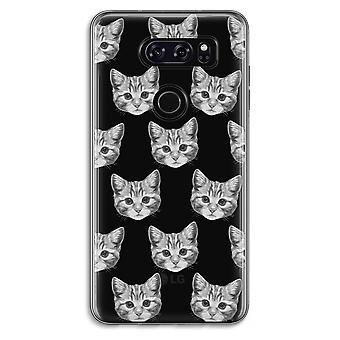 LG V30 Transparent Case - Kitten
