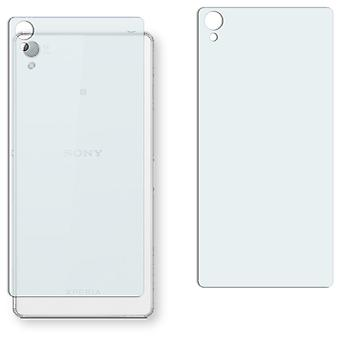 Sony Xperia Z3 back screen protector - Golebo crystal clear protection film
